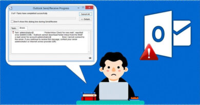How To Fix [pii_email_081c1559e955fd31a8ff] Error Solved