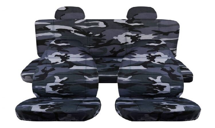 charcoal car seat covers in Australia