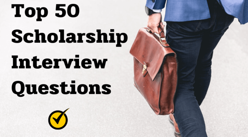 How To Succeed In College Scholarship Interviews