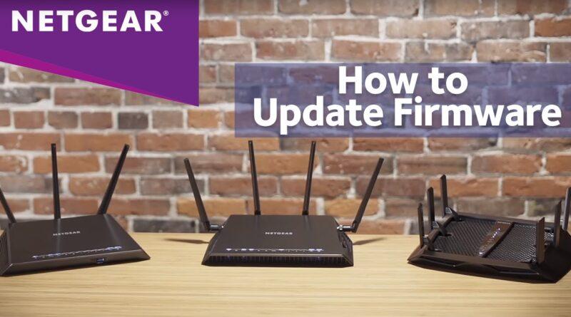 netgear router firmware update