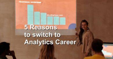 Analytics Career