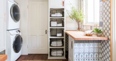 Accessories required to upgrade your laundry room